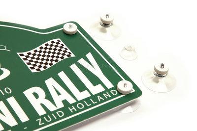 Rally-Schild Saugnäpfe